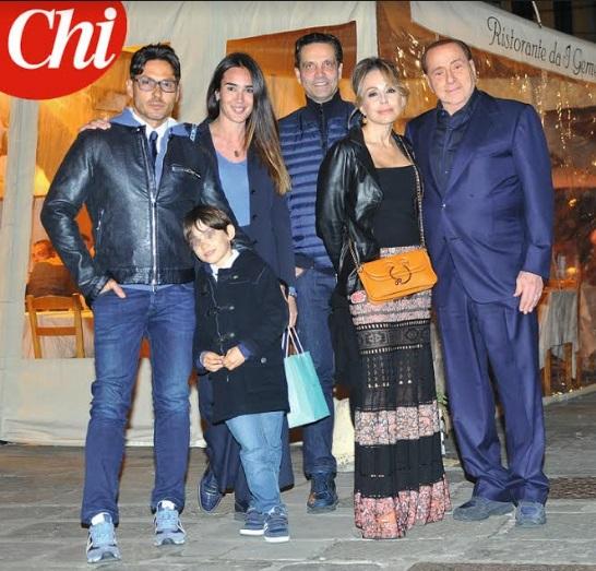 Pier Silvio Berlusconi età altezza peso figli moglie prima fidanzata