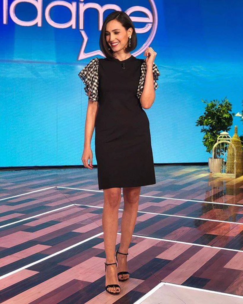look foto caterina balivo outfit fisico