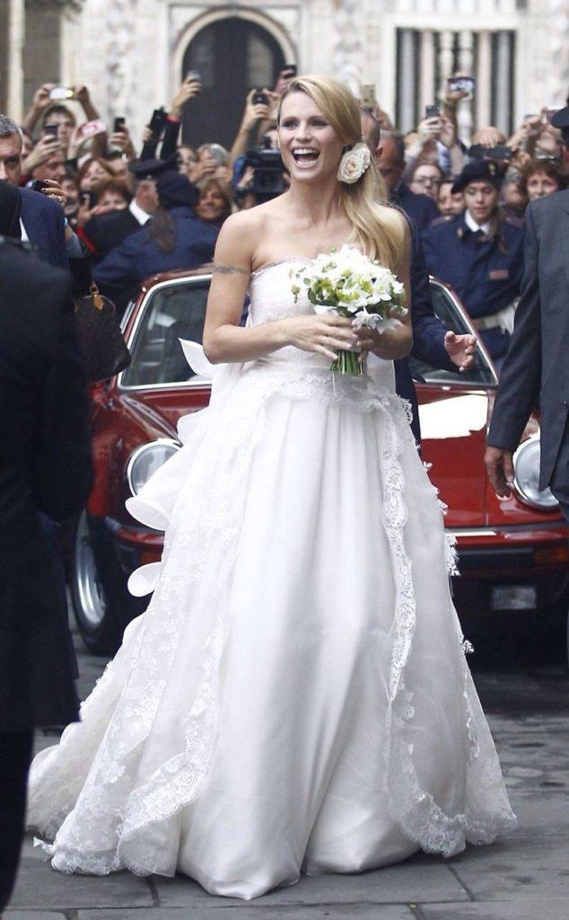 michelle hunziker tomaso trussardi video matrimonio