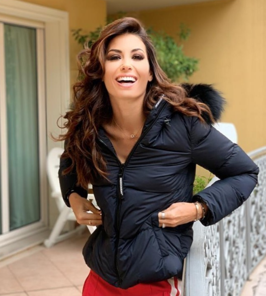 elisabetta gregoraci instagram foto look outfit fisico