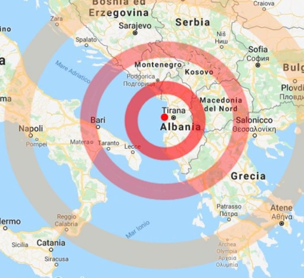 kledi kadiu terremoto albania