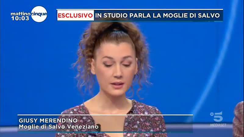 gf vip salvo veneziano minacce moglie figlia famiglia