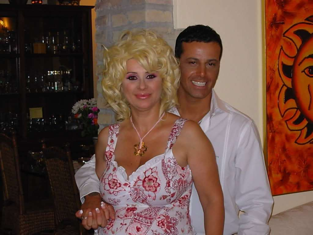 tina cipollari foto giovane matrimonio kikò nalli
