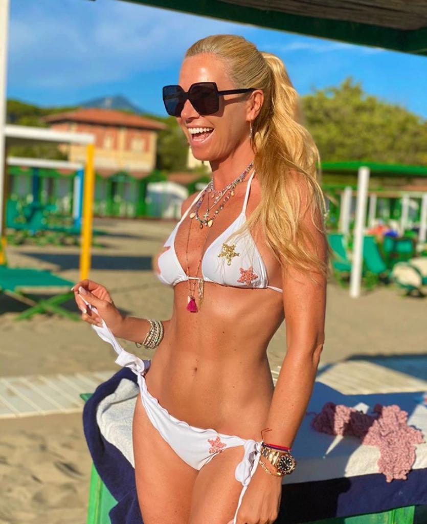federica panicucci fisico linea forma dieta bikini