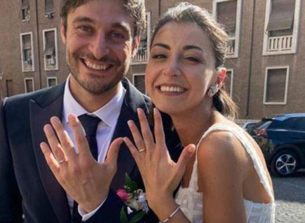 lino guanciale sposato matrimonio moglie antonella liuzzi
