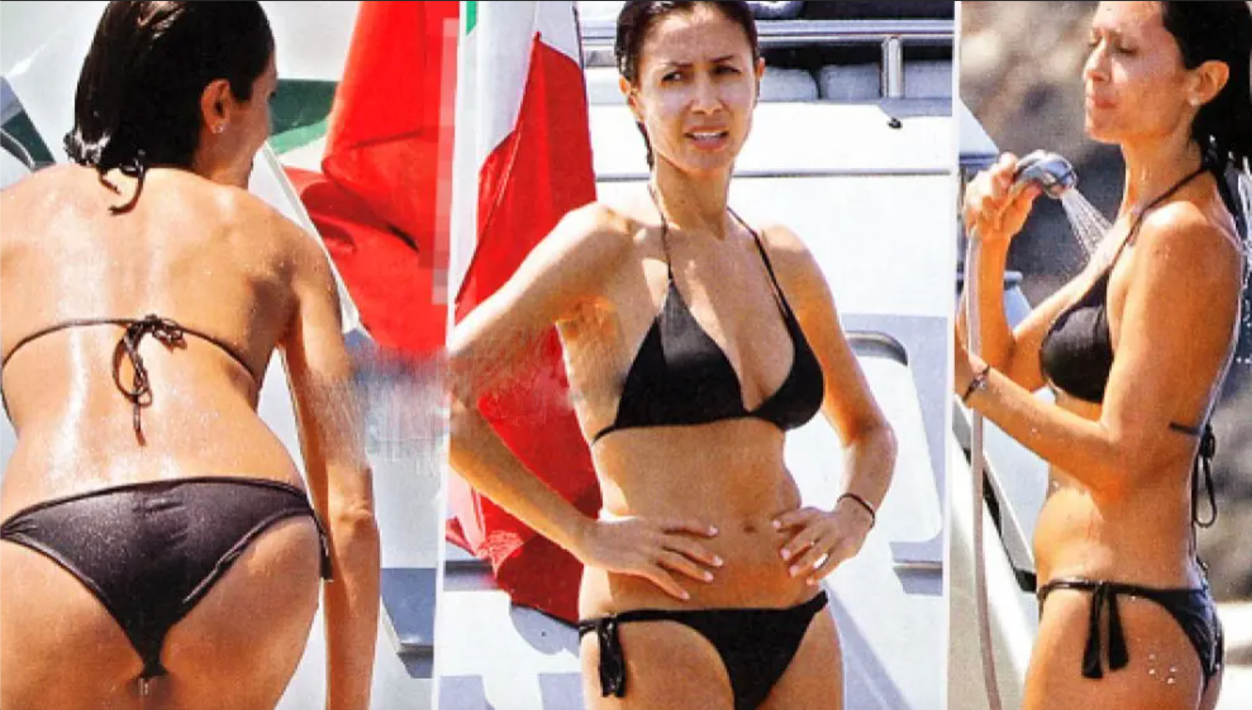 foto mara carfagna fisico costume bikini