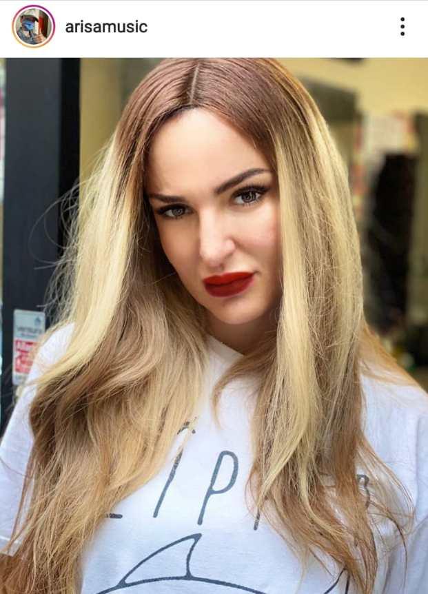 arisa nuovo look capelli extension