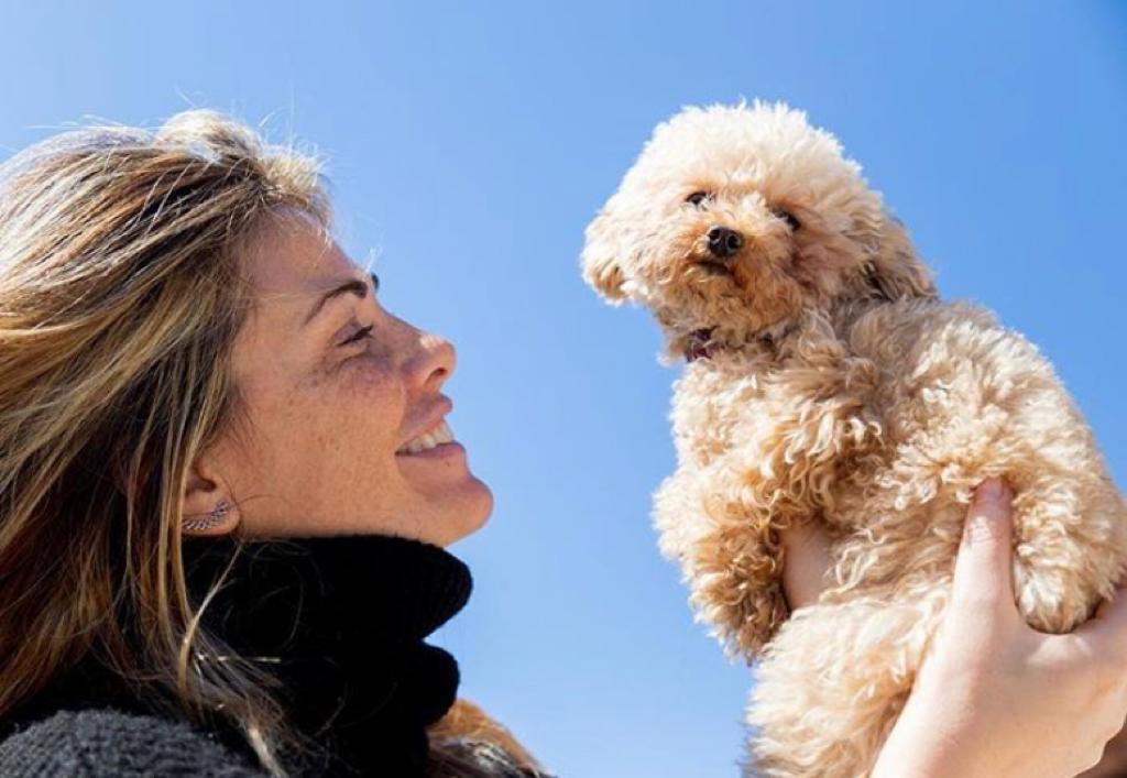 vanessa incontrada famiglia figlio cani