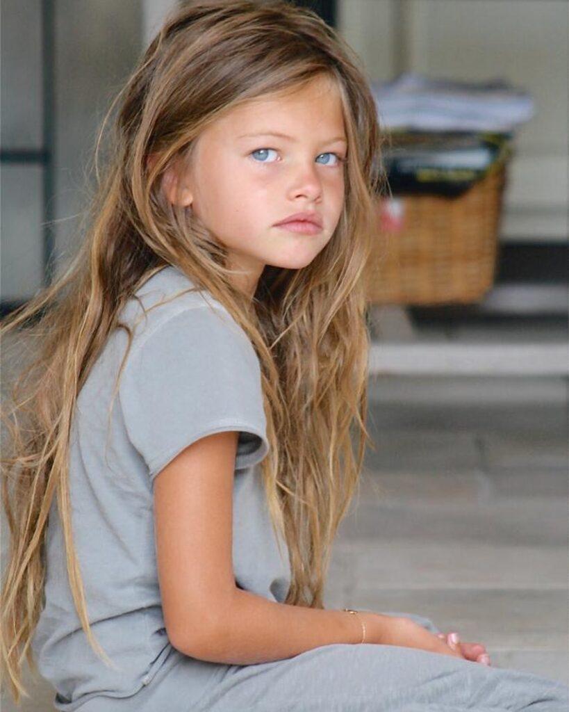 Thylane Blondeau bambina più bella del mondo oggi età modella