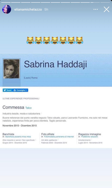 selvaggia roma origine tunisia cognome selvaggia Haddaji