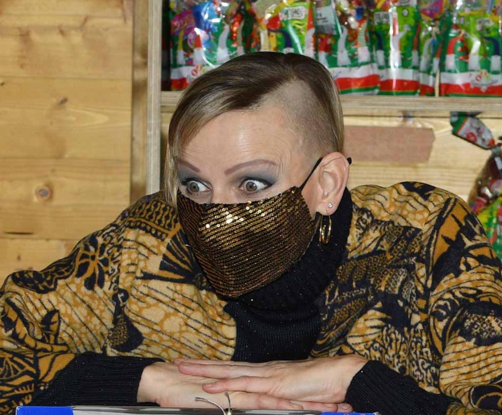 charlene wittstock monaco taaglio capelli rasati look