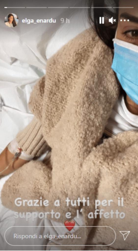 elga enardu ued ospedale foto instagram