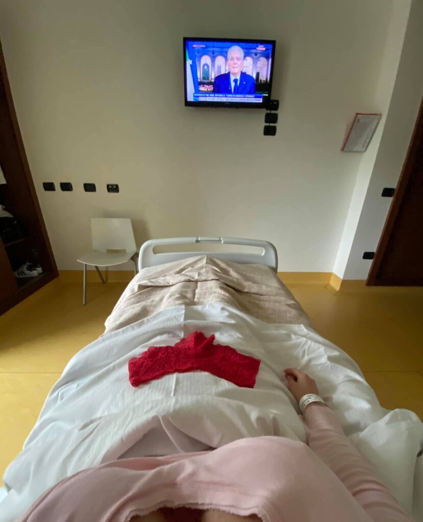 laura torrisi operata ospedale cosa ha endometriosi