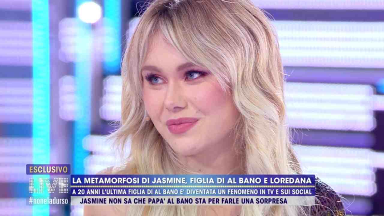 jasmine carrisi cambiata nuovo look capelli