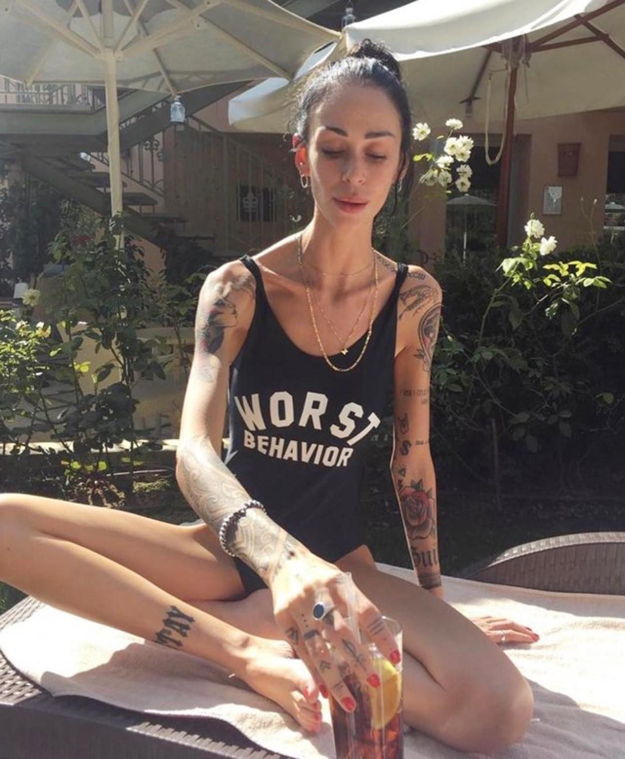 valentina dallari uomini e donne prima magra anoressia foto