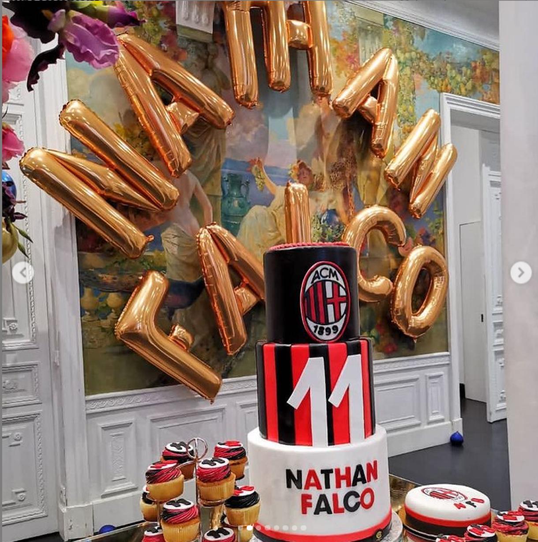 elisabetta gregoraci briatore foto compleanno figlio nathan falco