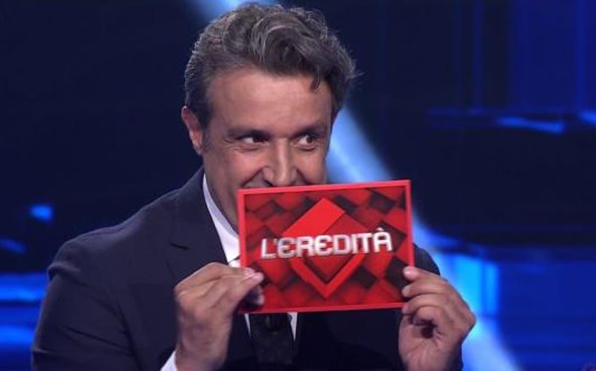 L'Eredità errore campione francesco Flavio Insinna