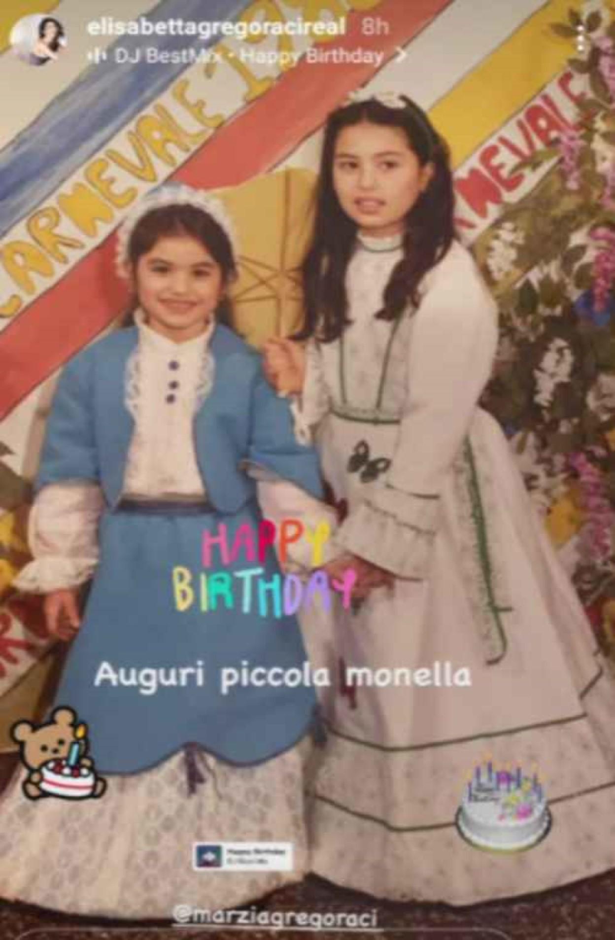 elisabetta gregoraci instagram foto sorella marzia