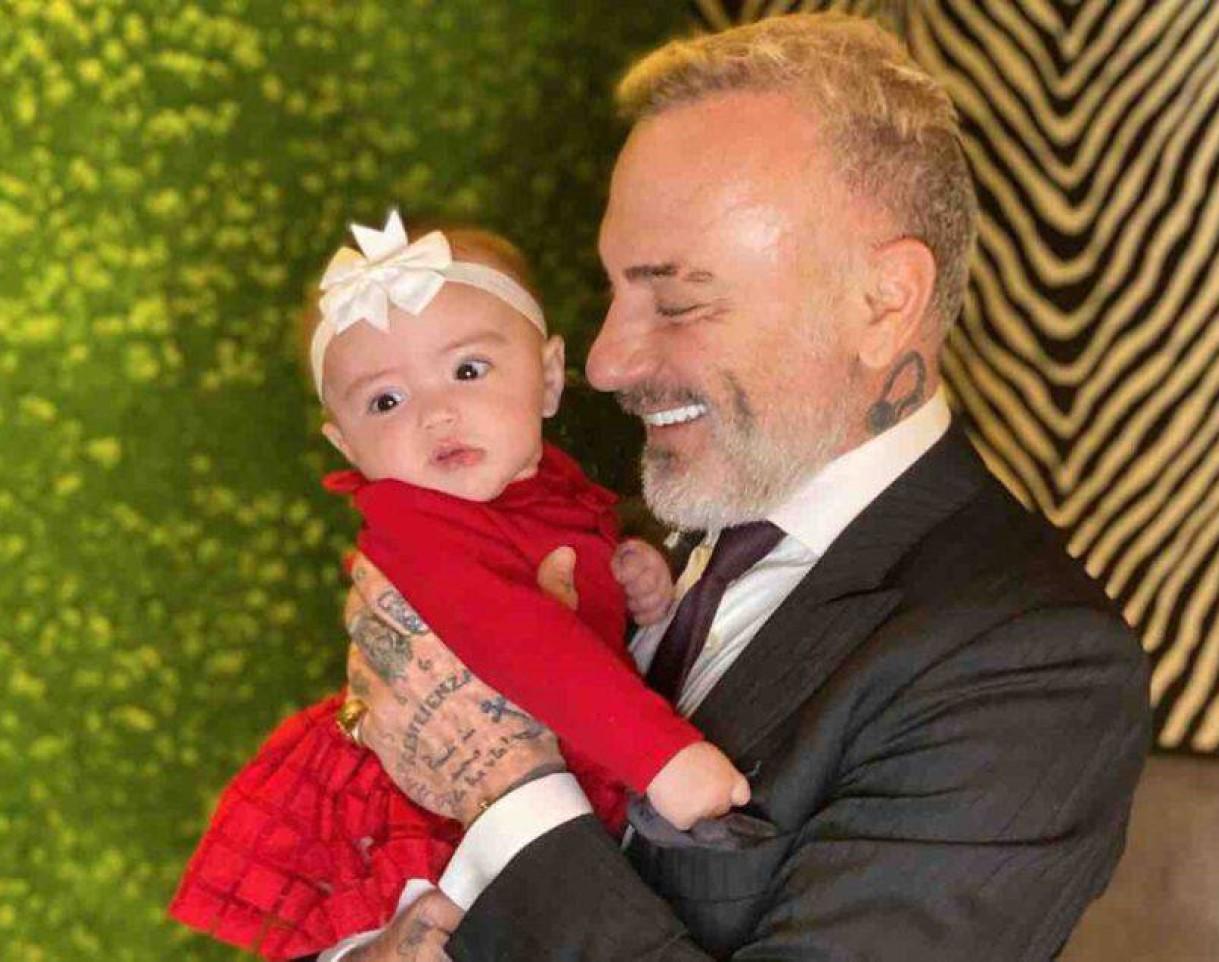 gianluca vacchi operata intervento figlia blu jerusalema