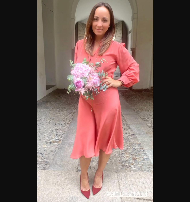 camila raznovich sposata matrimonio marito loic fleury