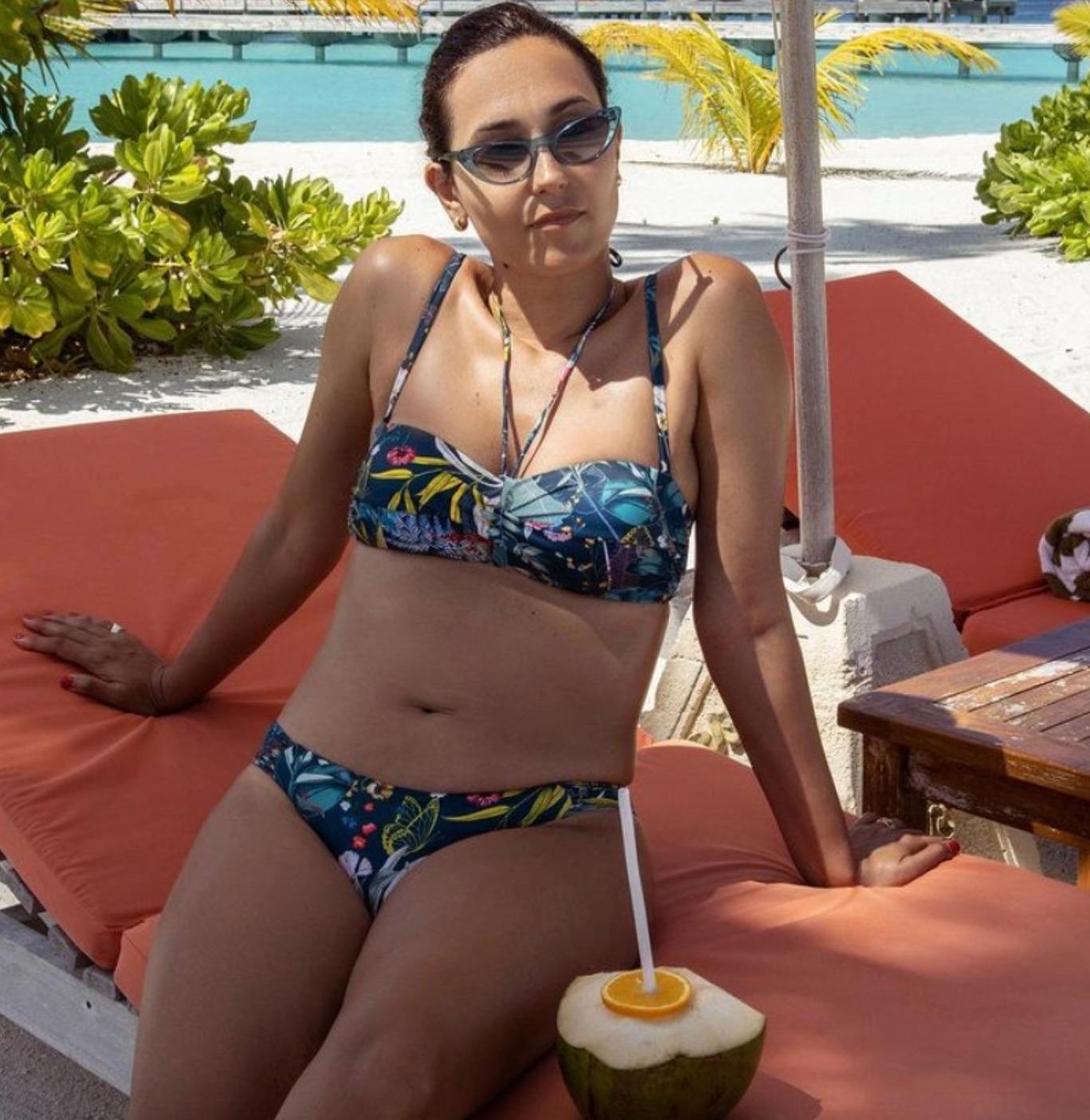 caterina balivo instagram foto fisico come è bikini