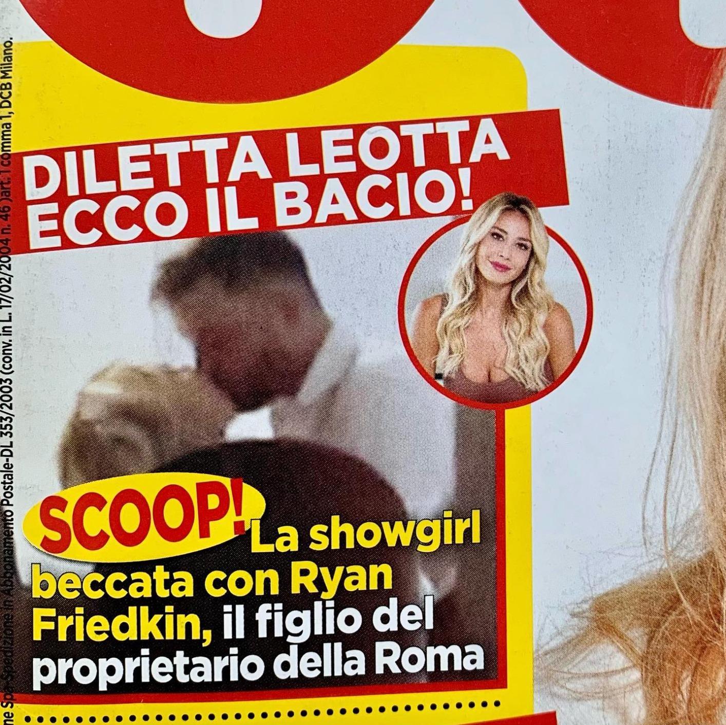 barbara d'urso critiche diletta leotta gossip
