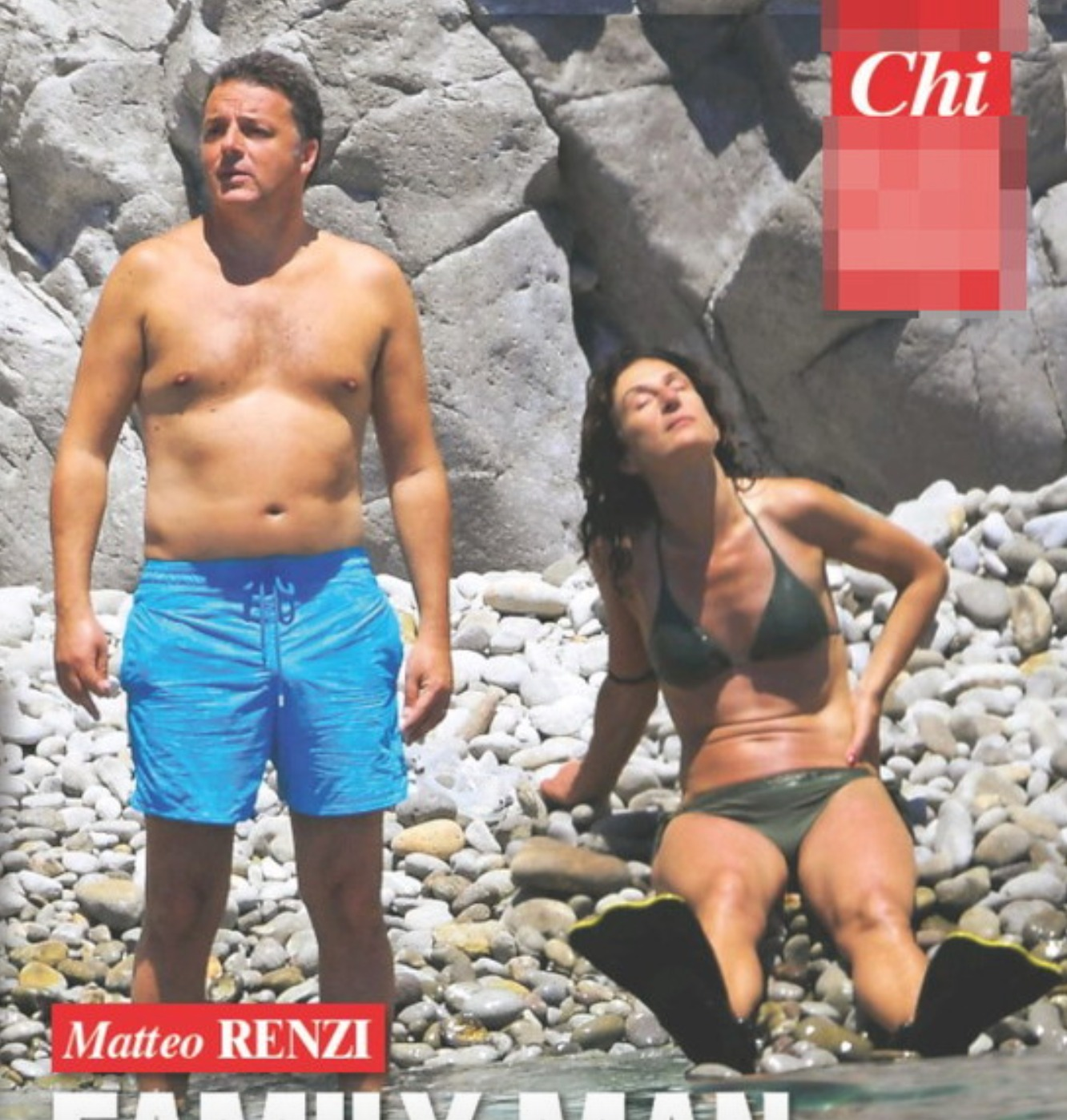 agnese landini moglie matteo renzi fisico bikini