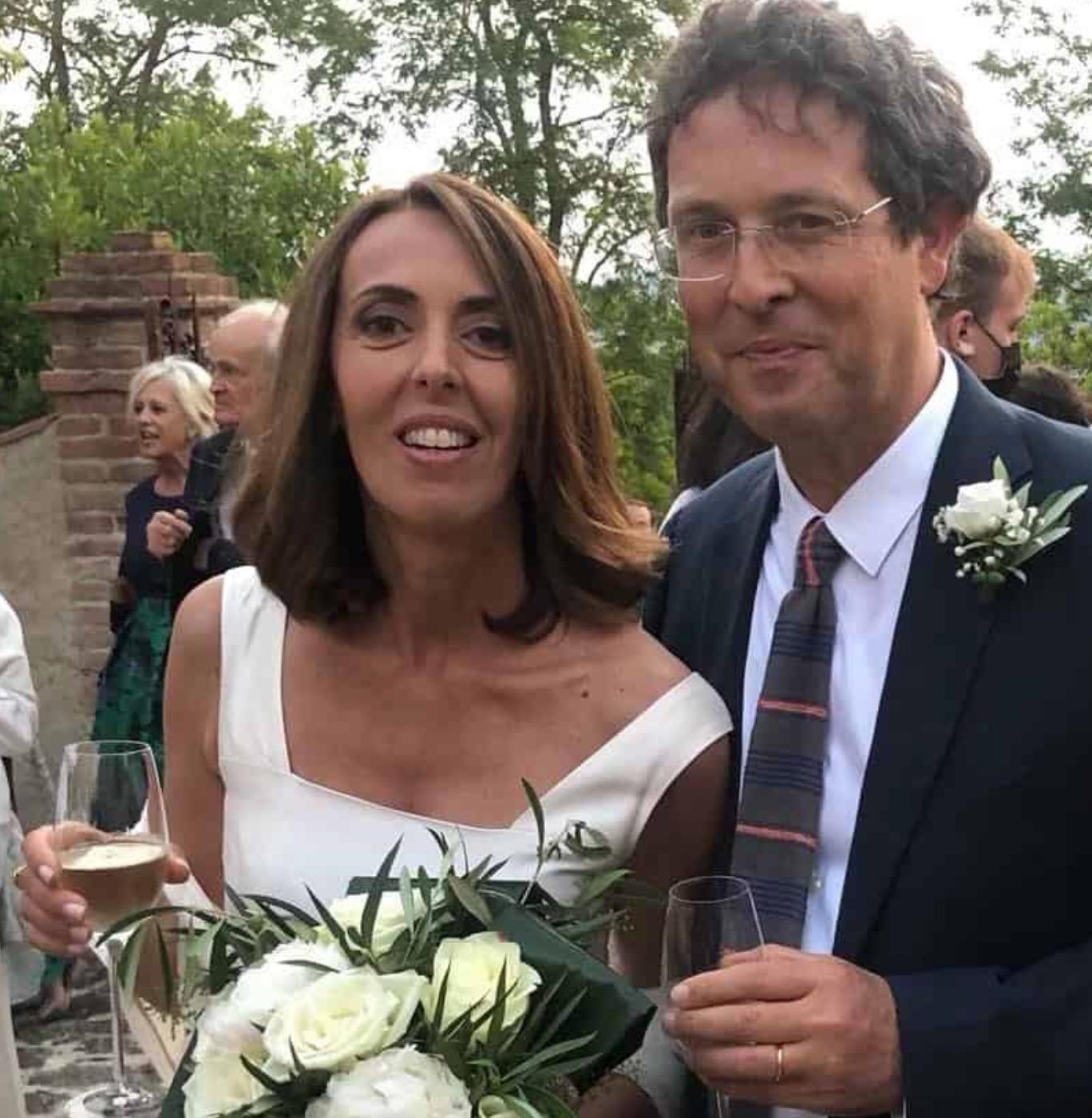 alessandra sardoni sposata matrimonio marito