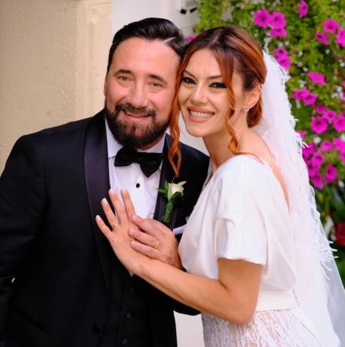 federico zampaglione matrimonio moglie attrice Giglia Marra
