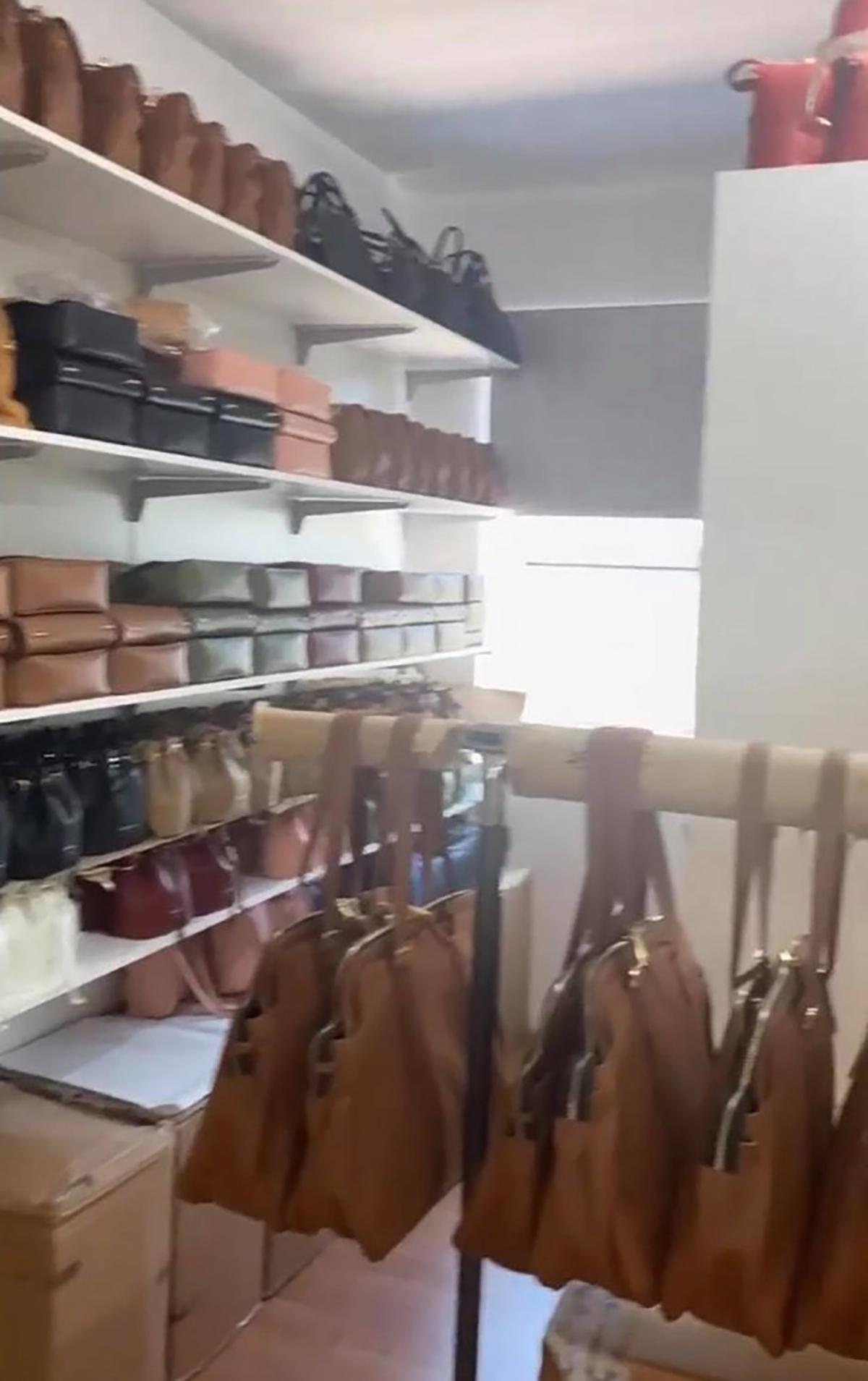 alessia marcuzzi fabbrica borse made in italy