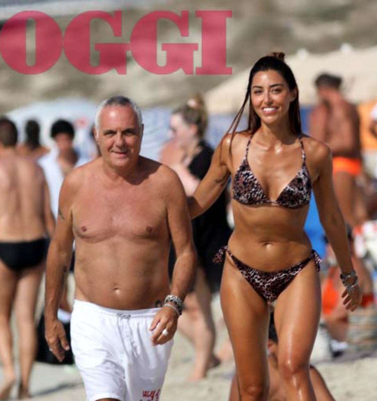 giorgio panariello fidanzata compagna claudia capellini età anni